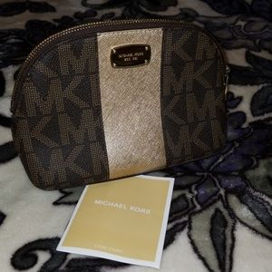 Mini Michael Kors makeup bag